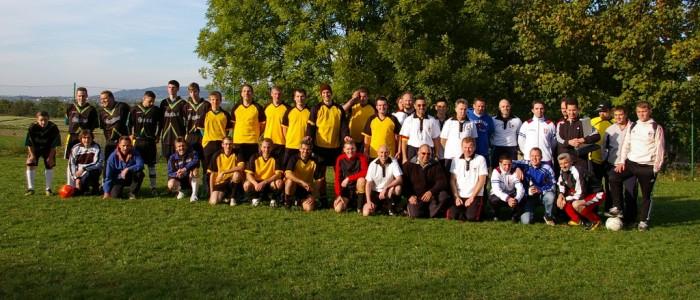 Die Teilnehmer am Turnier