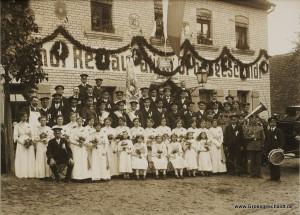 Fahnenweihe des Militärvereins Groß- und Kleingeschaidt194