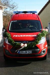 Neues Feuerwehrfahrzeug  in den Dienst gestellt