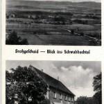 Großgeschaidt / Blick ins Schwabachtal, Gasthof Peter Stoy zur Verfügung gestellt von Ewald Glückert