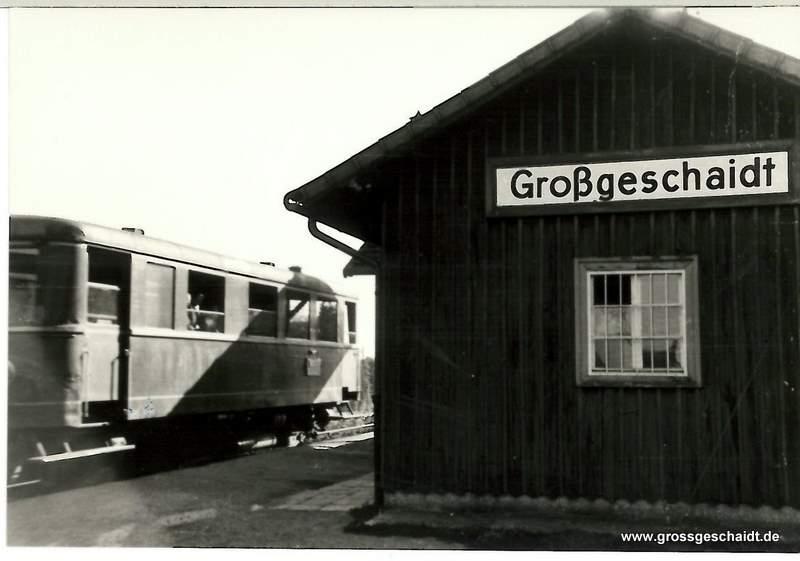 Bahnhof 01.09.1953, (8:00), Aufnahme Werner Gebhardt, zur Verfügung gestellt von Ewald Glückert