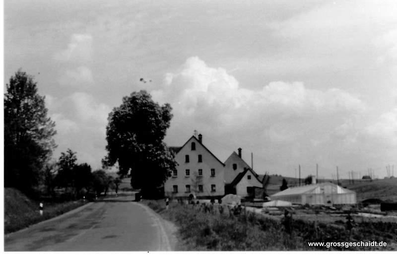 Ehemalige Siedlung Johannistal 1965, zur Verfügung gestellt von Ewald Glückert