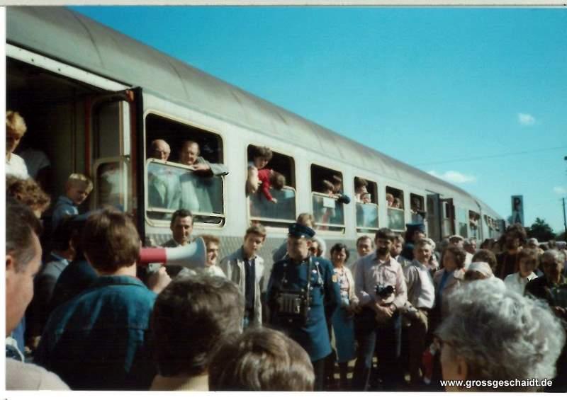 75-jähriges Bahnjubiläum (1983) zur Verfügung gestellt von Ewald Glückert